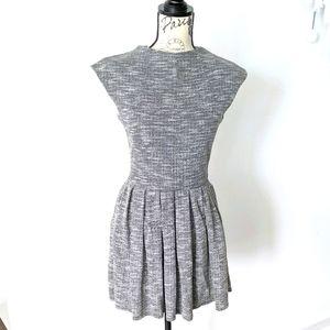 Aritzia Talula gray waldorf night out dress